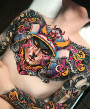 Samurai Medusa
