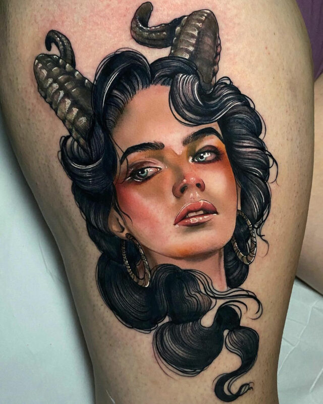 Femme démon