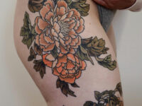 Hip & Thigh Peonies