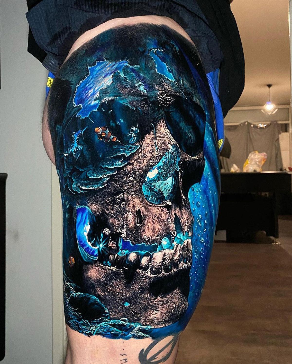 Ocean Skull