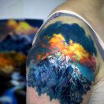 Mountain Peak Tattoo