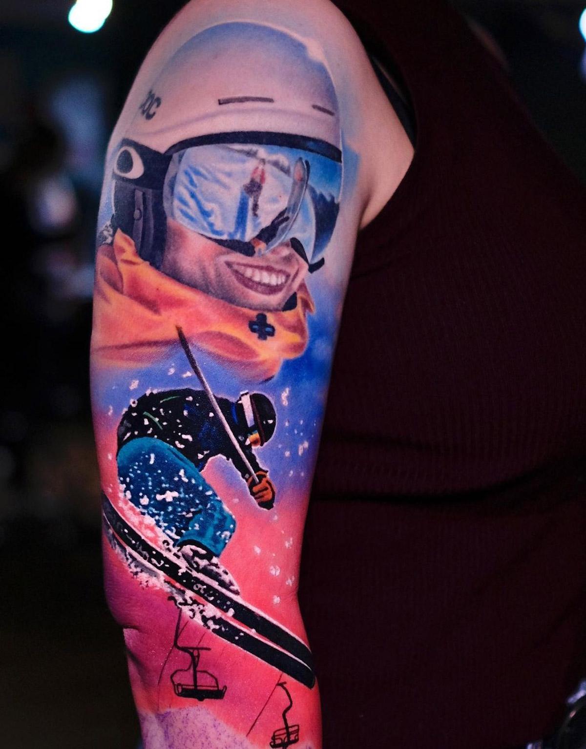 Ski Mask, Skier
