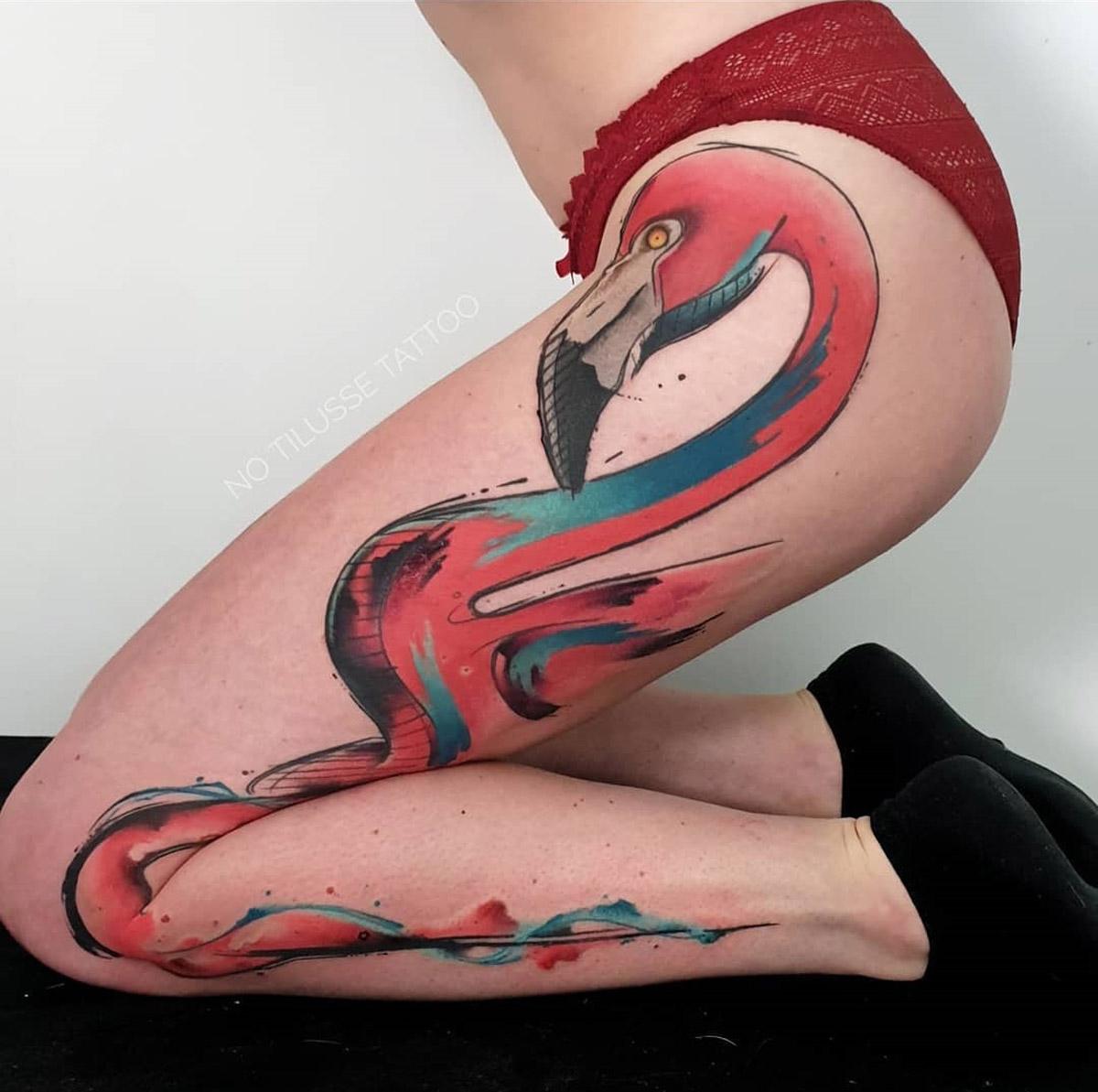 Flamingo Leg