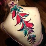 Wandering Jew Plant Tattoo