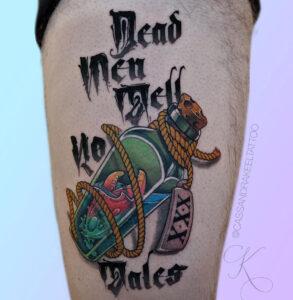 Les hommes mort ne racontent pas d'histoires