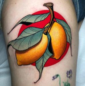 Tatouage De Citrons