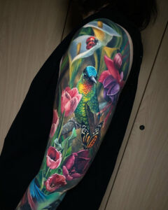 Colibri & Fleurs