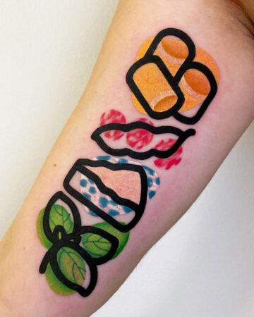 Ingredients Tattoo