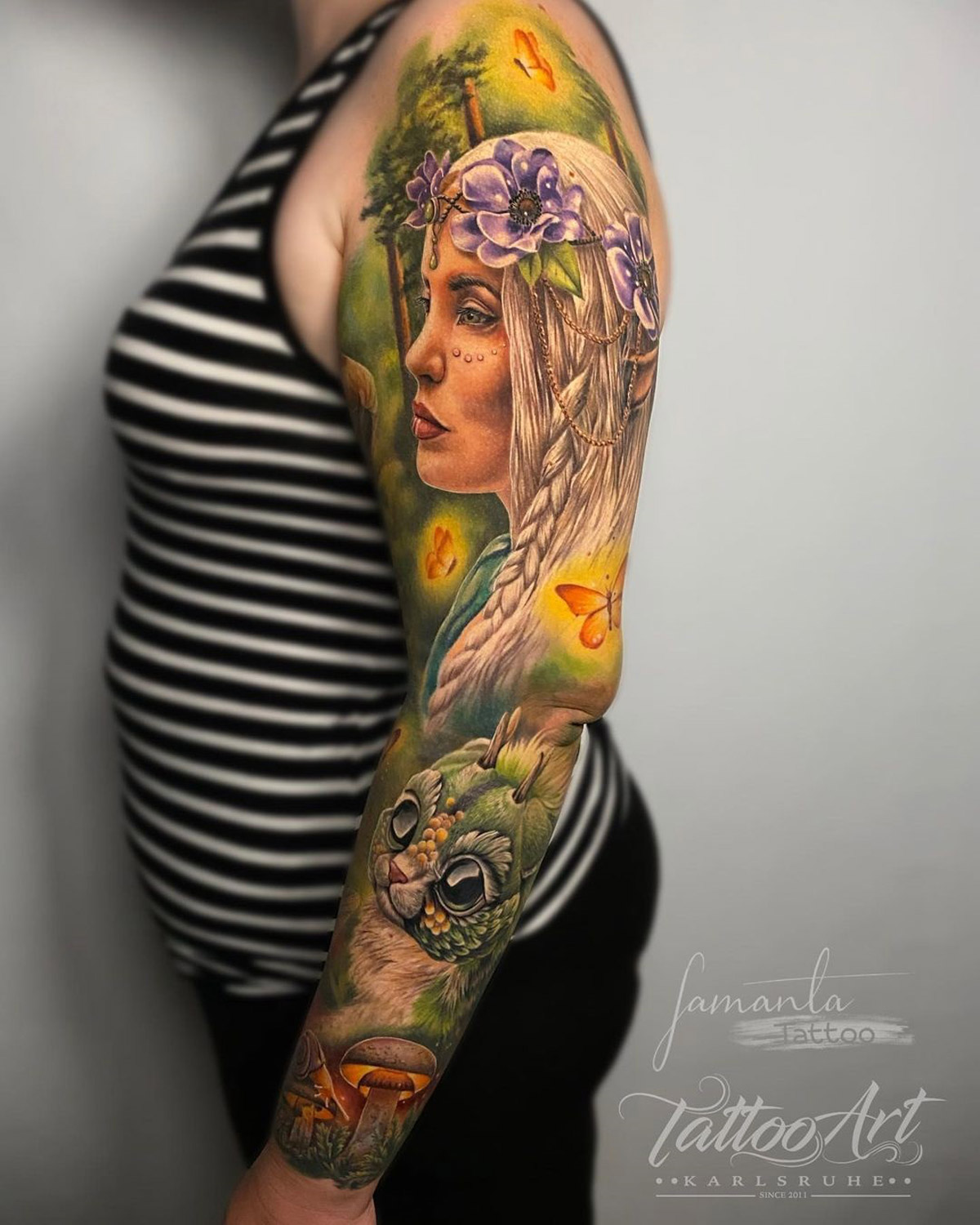 Magical Forest Sleeve